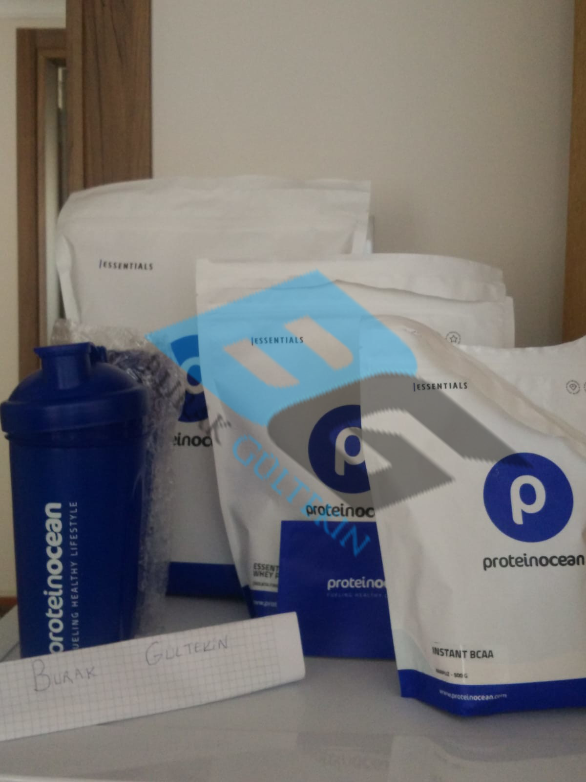 ProteinOcean Whey,BCAA,Pre workout İncelemesi